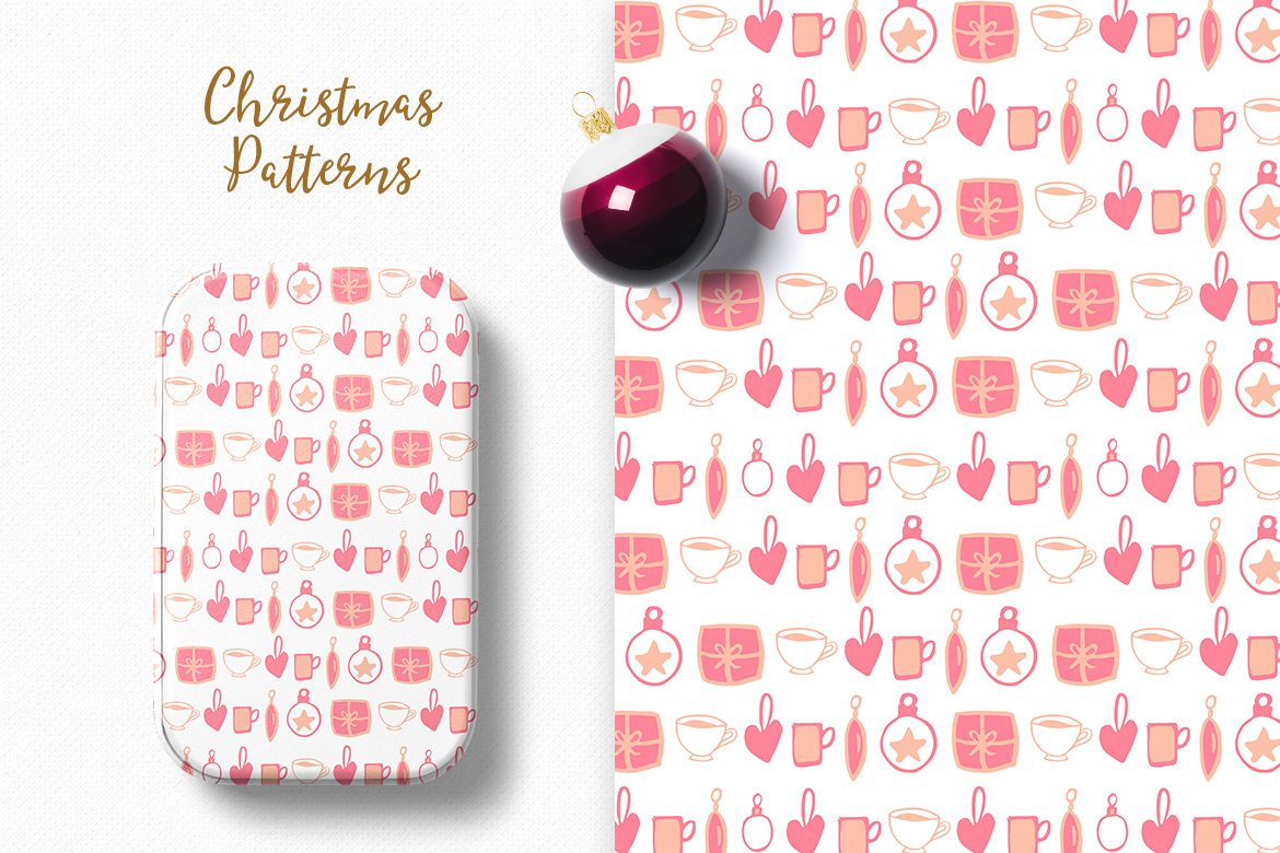 Christmas Pattern Collection example image 3