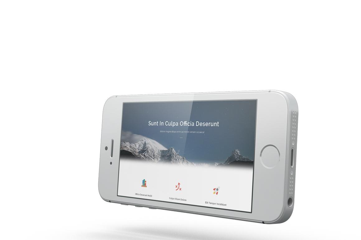 iPhone SE Mockup example image 11