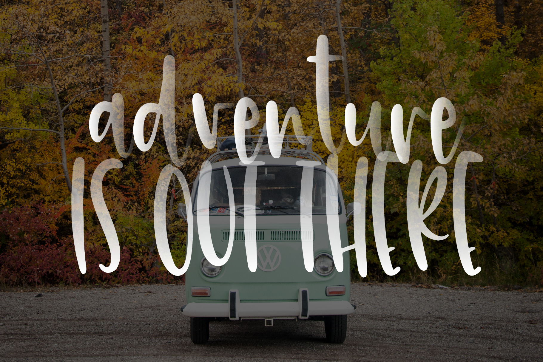 HappyTrip Font Duo example image 2