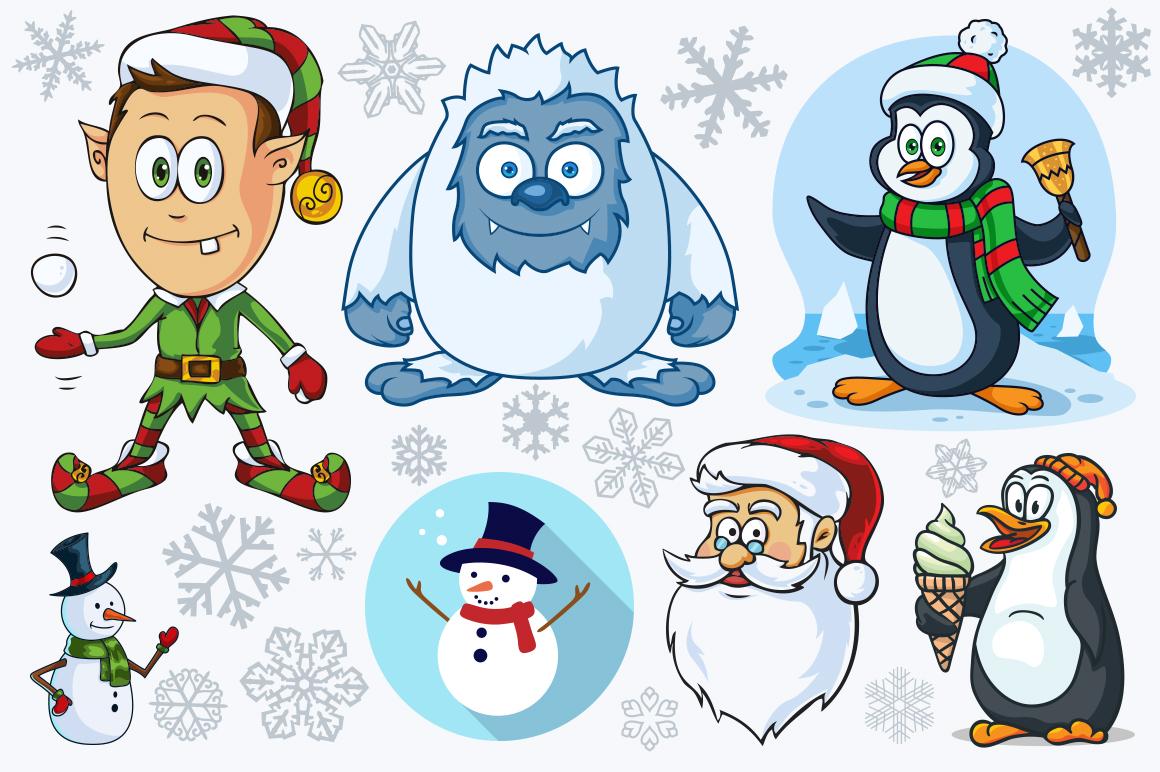 Cartoon Characters & Items Bundle example image 10