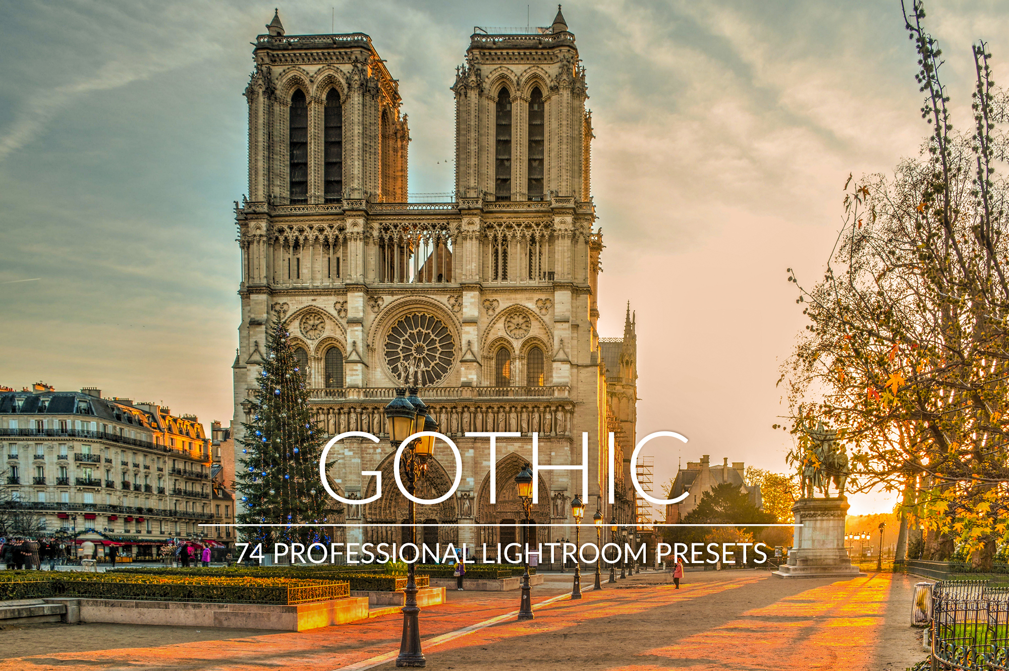 Gothic Lr Presets example image 1