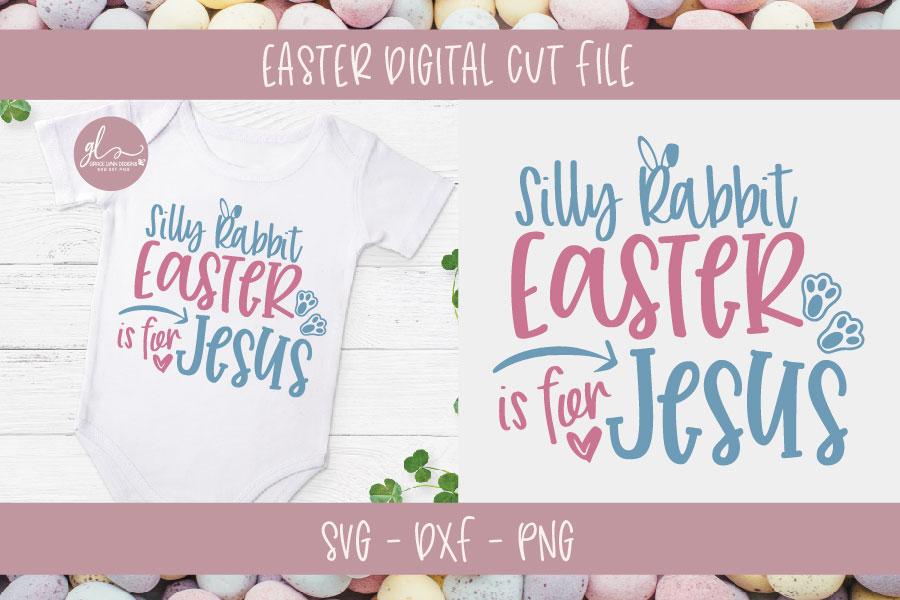 Easter Bundle Vol. 2 - 10 Easter Designs - SVG, DXF & PNG example image 3