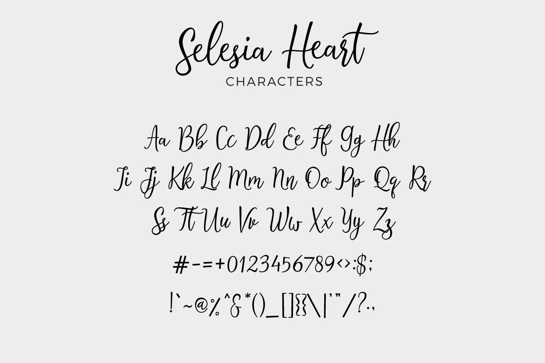 Selesia Heart example image 5
