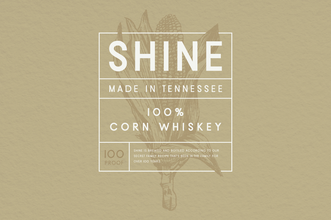 Moonshine Font | A Classic Sans Serif example image 4