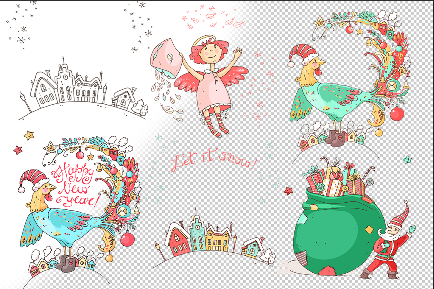 Winter Greeting Cards example image 6
