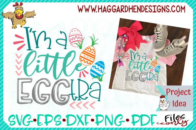 I'm a little Eggtra SVG example image 1