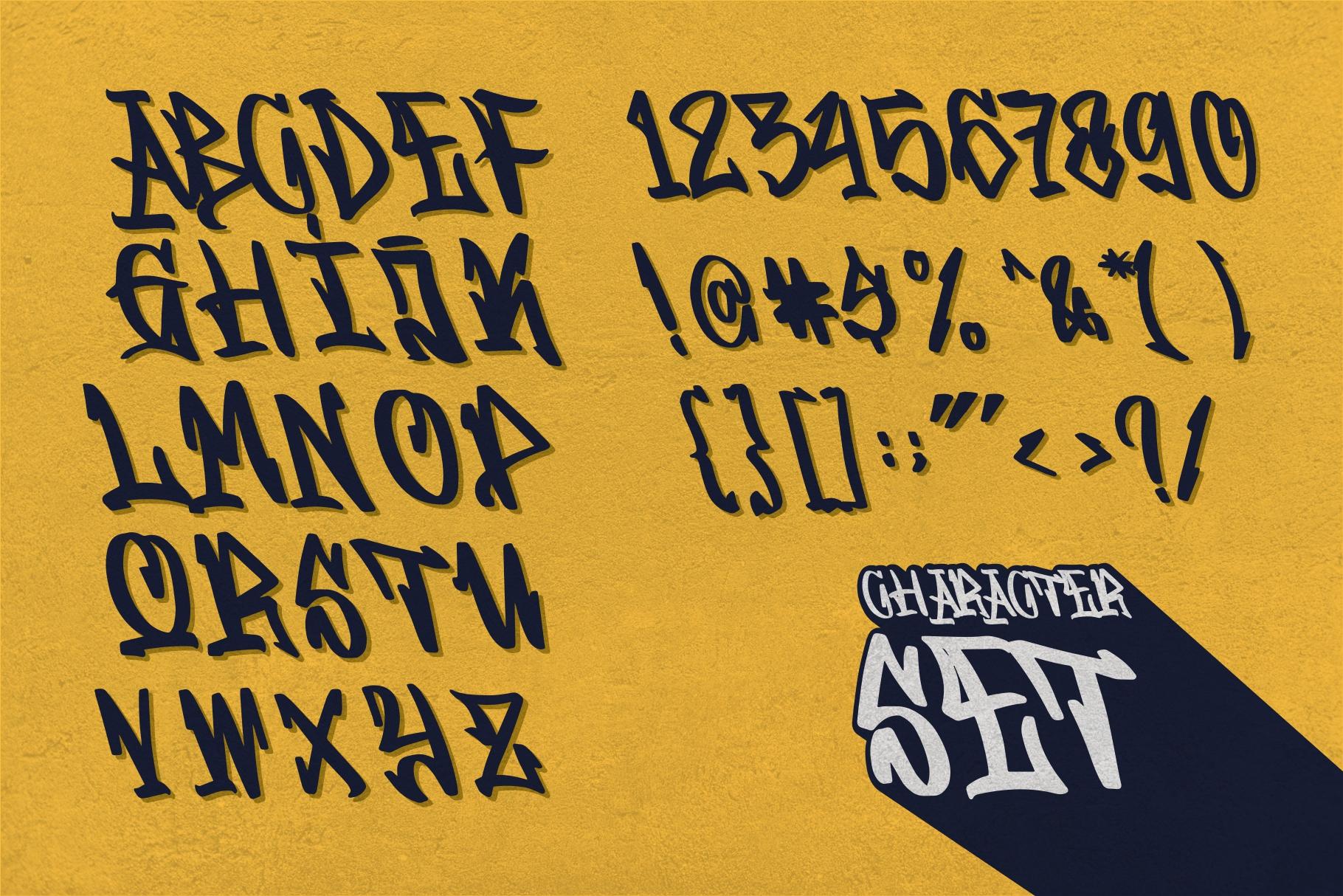 GRAFFITASI - Street Fonts example image 4