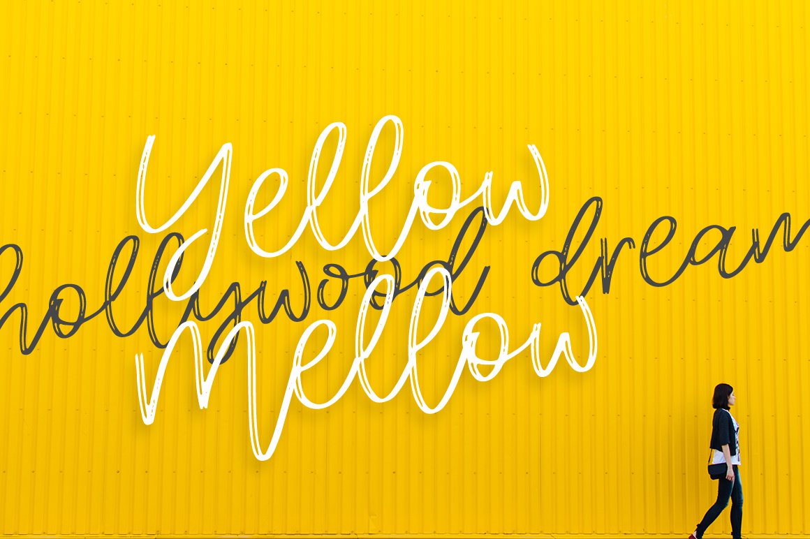 Mellow Script example image 4