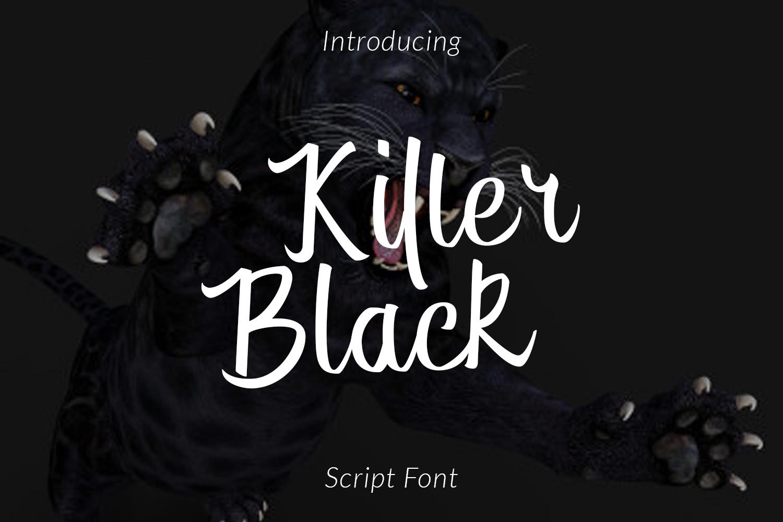 Killer Black example image 1
