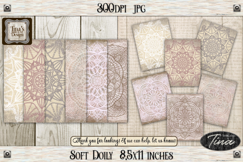 So Soft Doily Card Making Antique Dainty Feminine 111218SD example image 1
