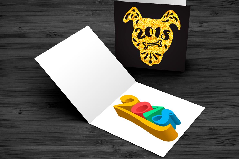 2018 New Year Symbols Set example image 4