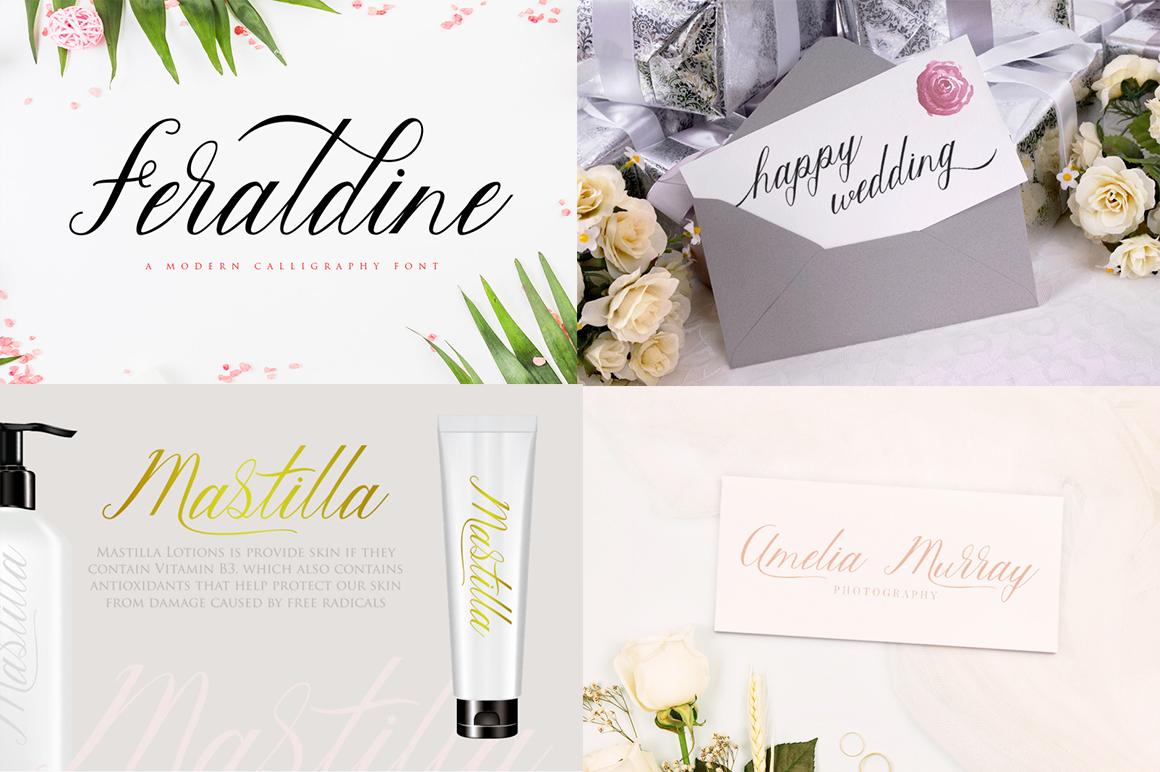 The amazing fonts bundle example image 7