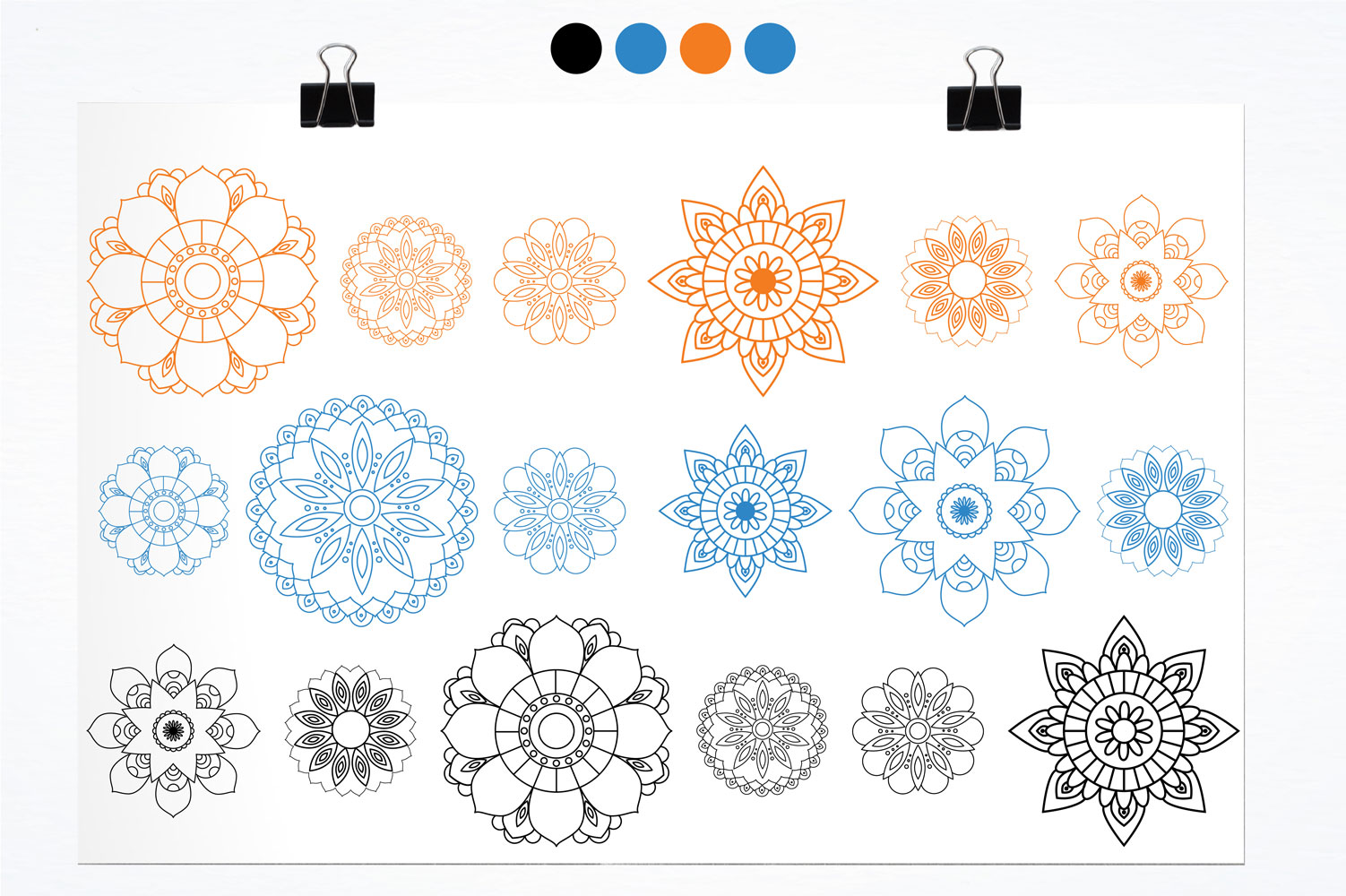 Beautiful Mandala Cute Graphics example image 2