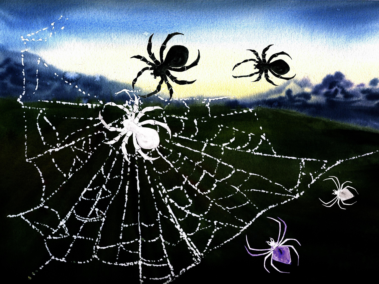 Set of watercolor Halloween example image 4