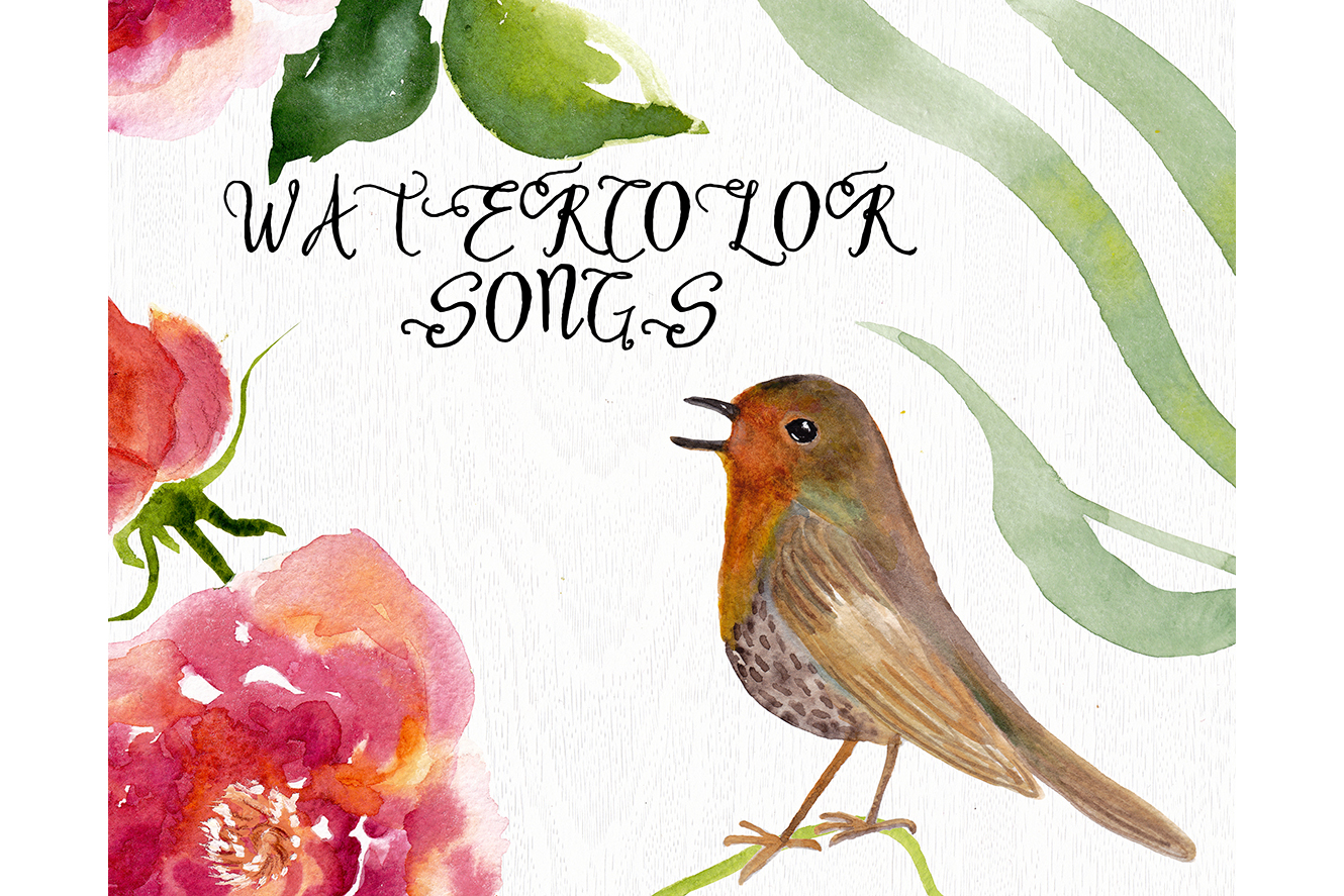 Watercolor songs example image 1
