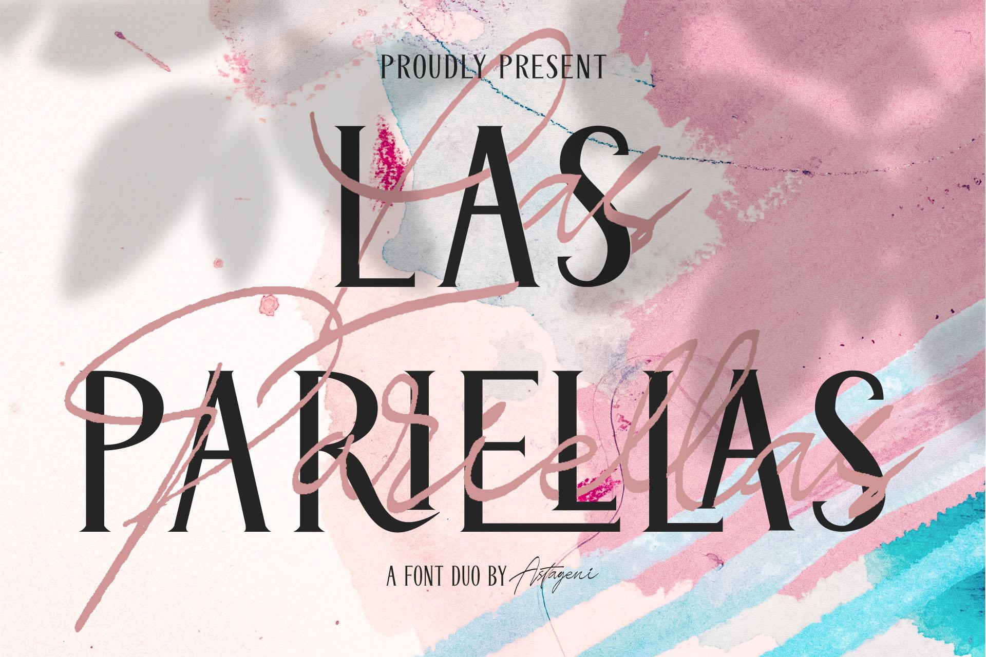 Las Pariellas Font Duo example image 1