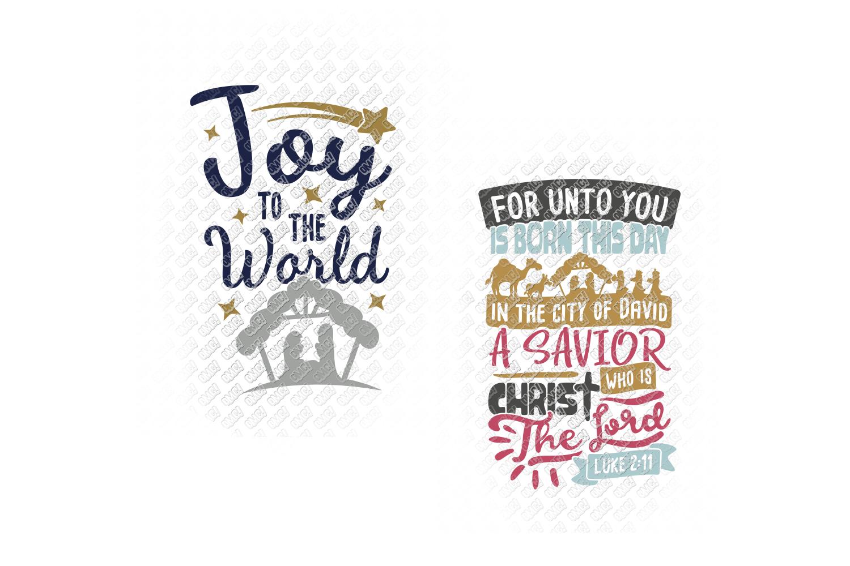 Nativity SVG Christmas Bundle in SVG, DXF, PNG, EPS, JPEG example image 3