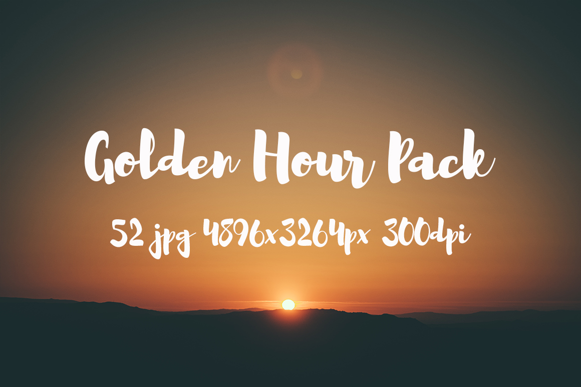 Golden hour Pack example image 4