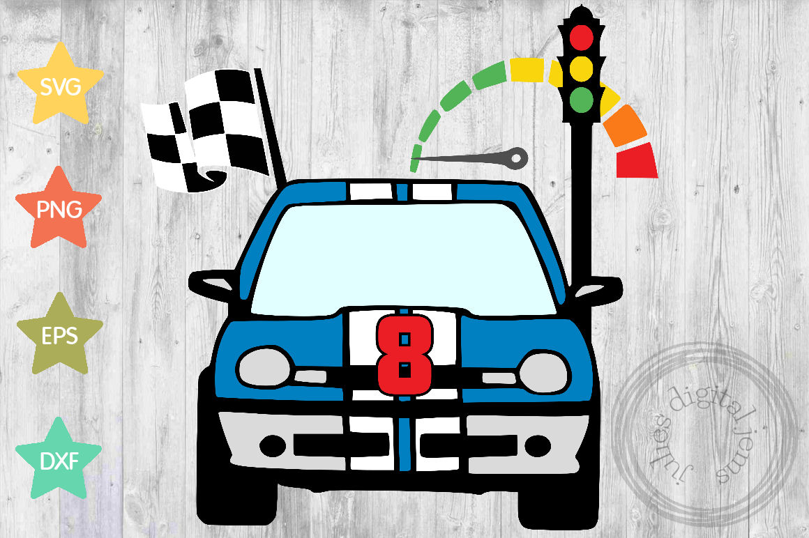 Racing Birthday 8th, by Julies Homemade Jems example image 1
