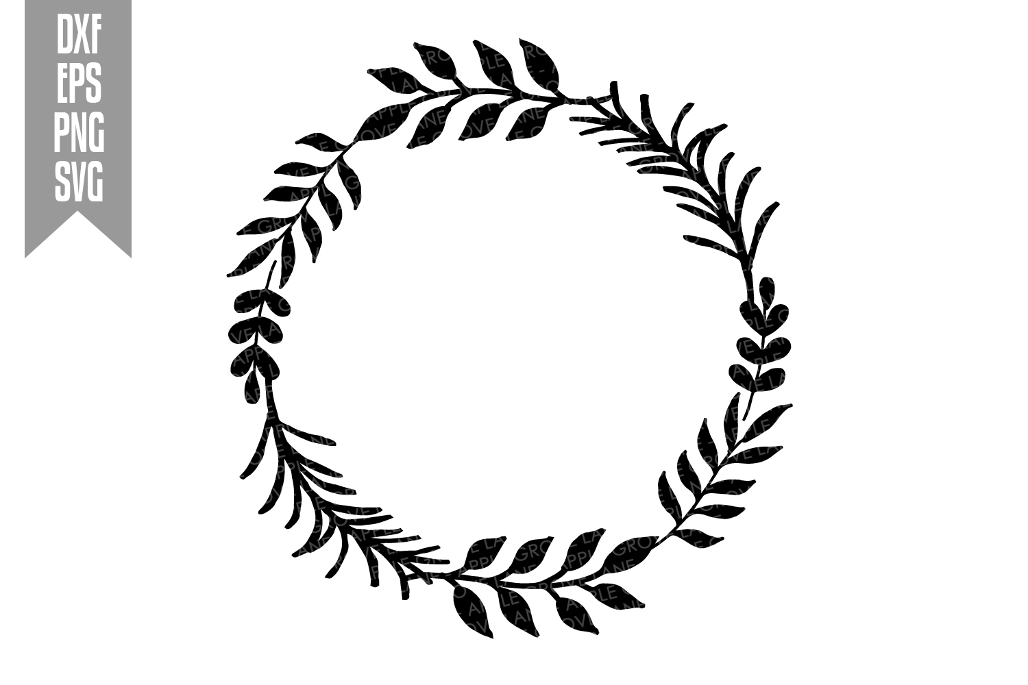 Wreath Svg Bundle - 6 designs included - Svg Cut Files example image 13