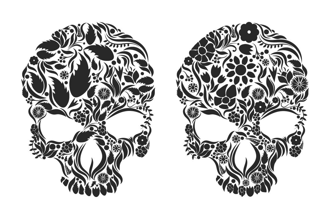 Herbs Skull example image 5