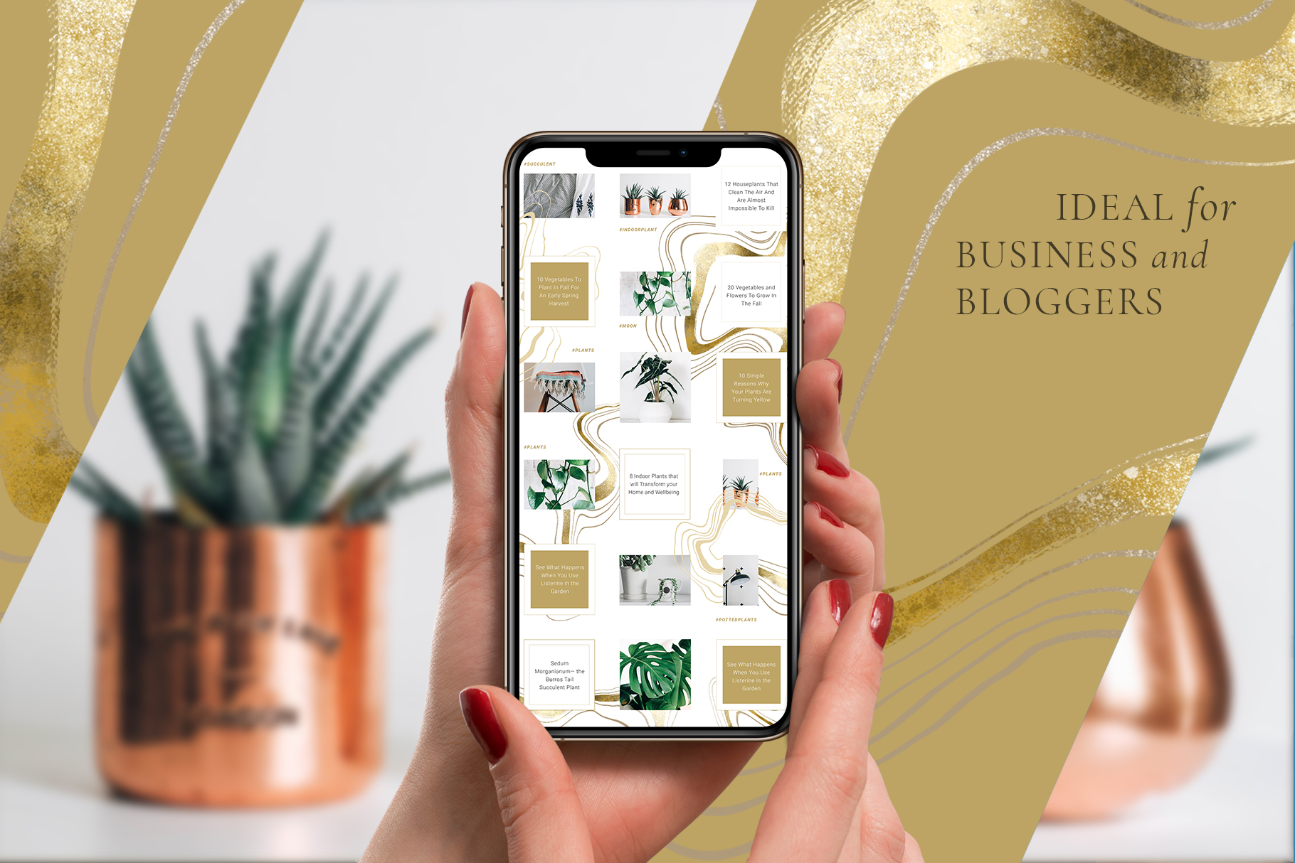 Female Business Instagram Templates example image 3