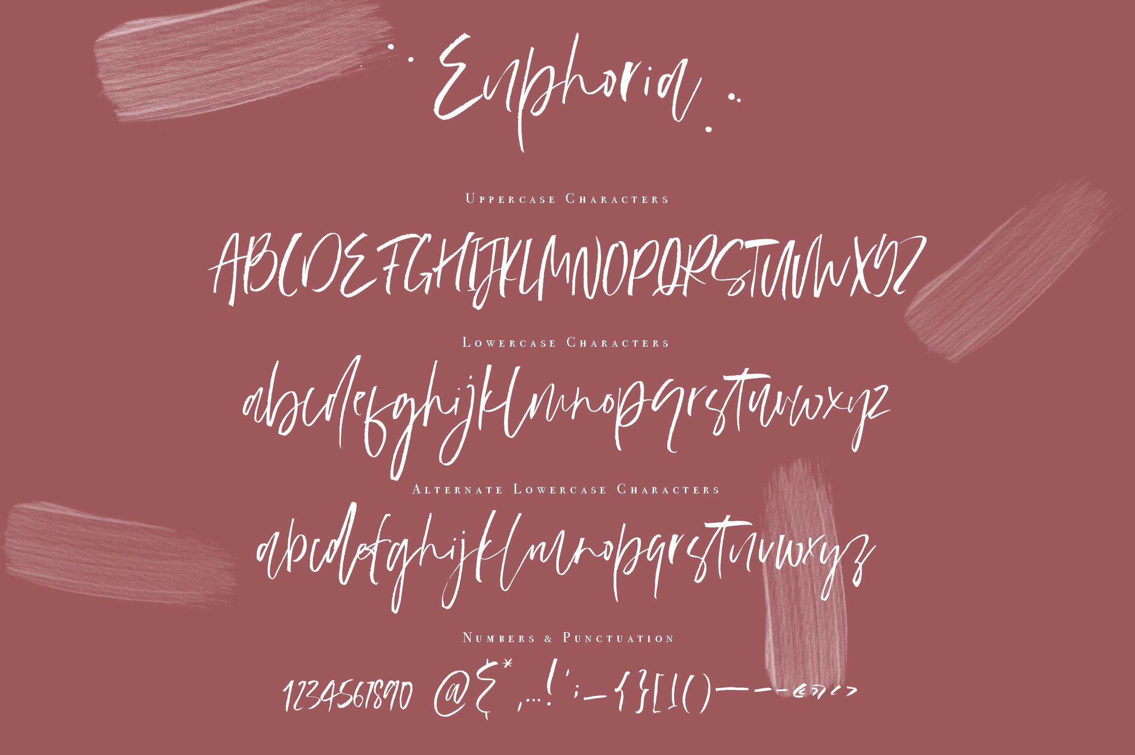 Euphoria | Handwritten Font example image 10