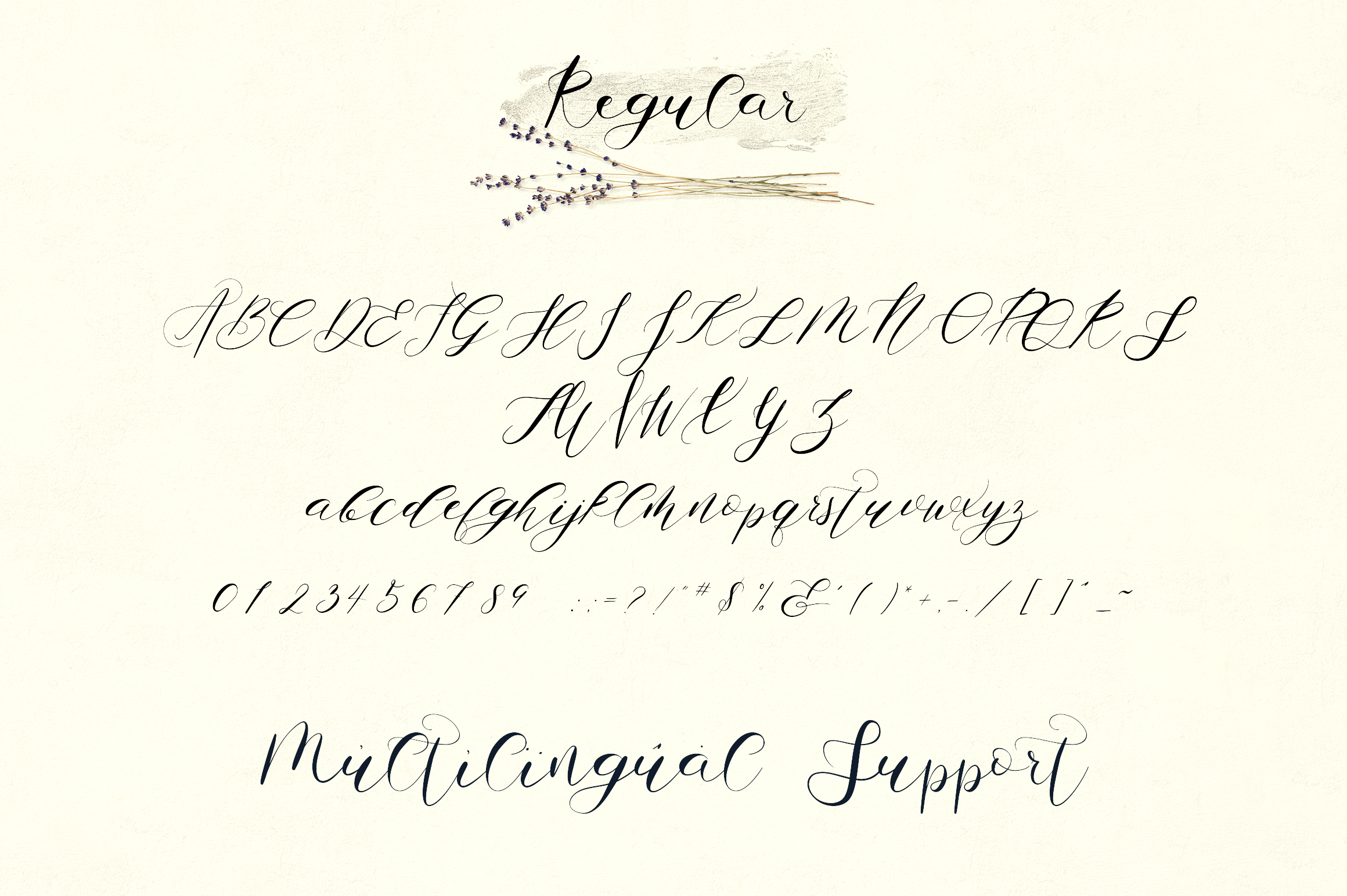 Zemarah script - 3 styles Extras example image 10