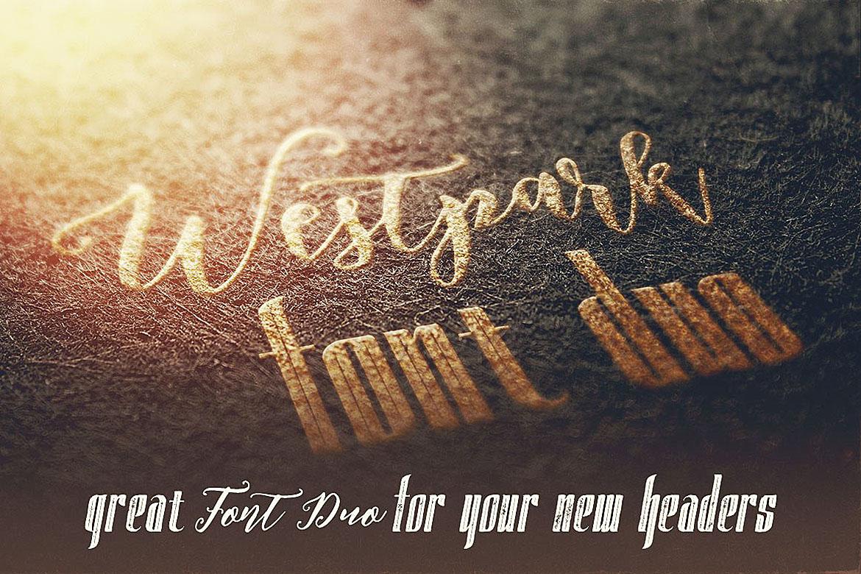 Westpark Script Font Duo example image 3