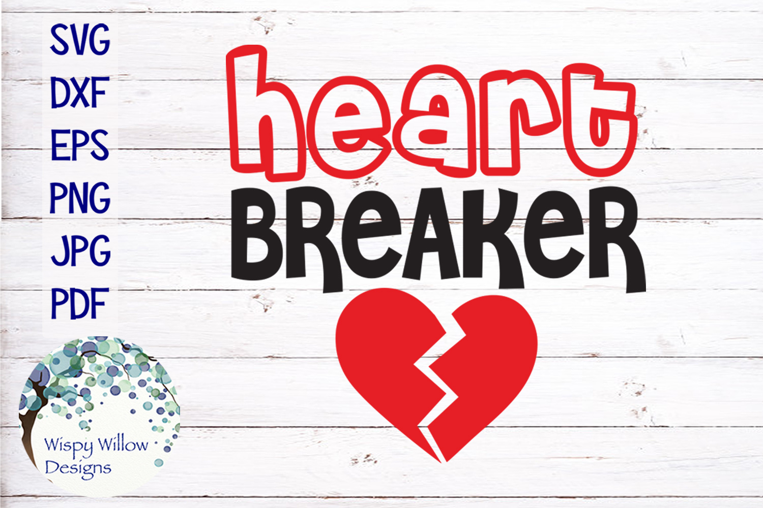 Heart Breaker | Valentine's Day SVG example image 2