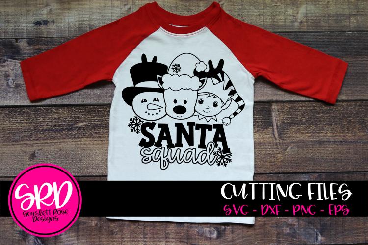 Santa Squad Boys SVG example image 1