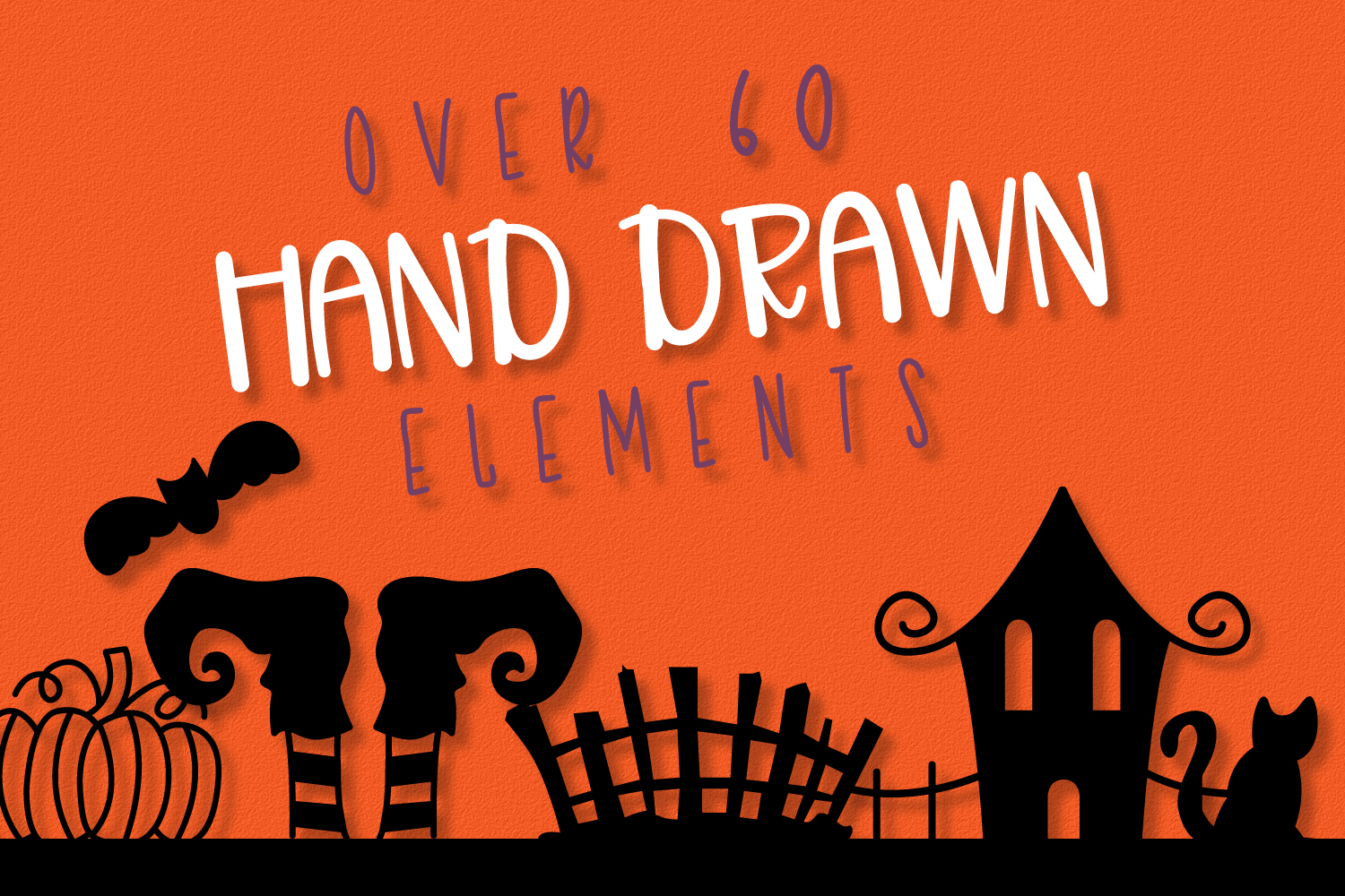 Spooky Squad - A Halloween Dingbat Font example image 3