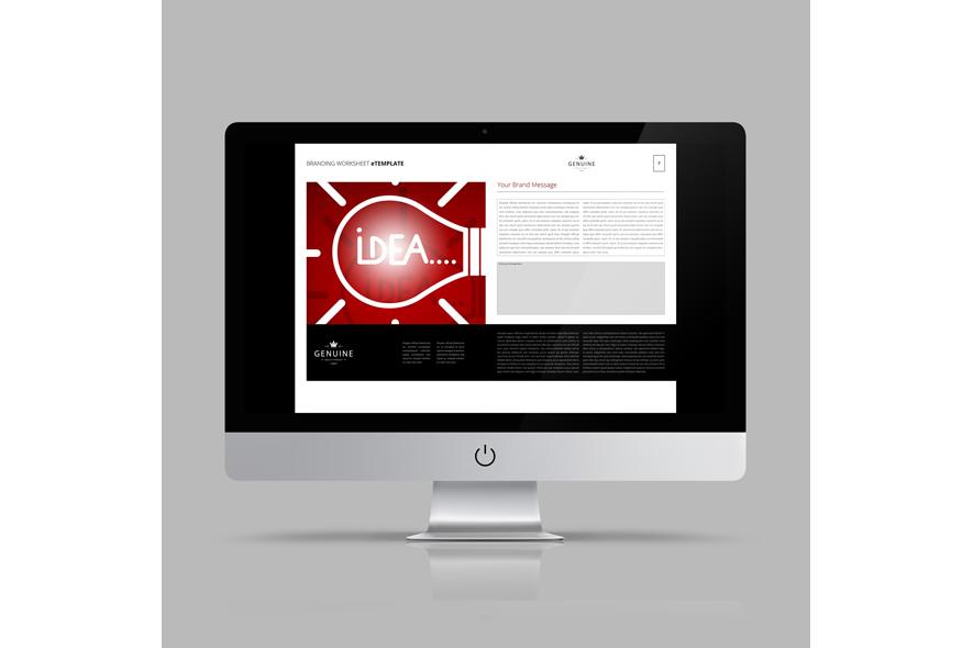 Branding Worksheet eTemplate example image 5