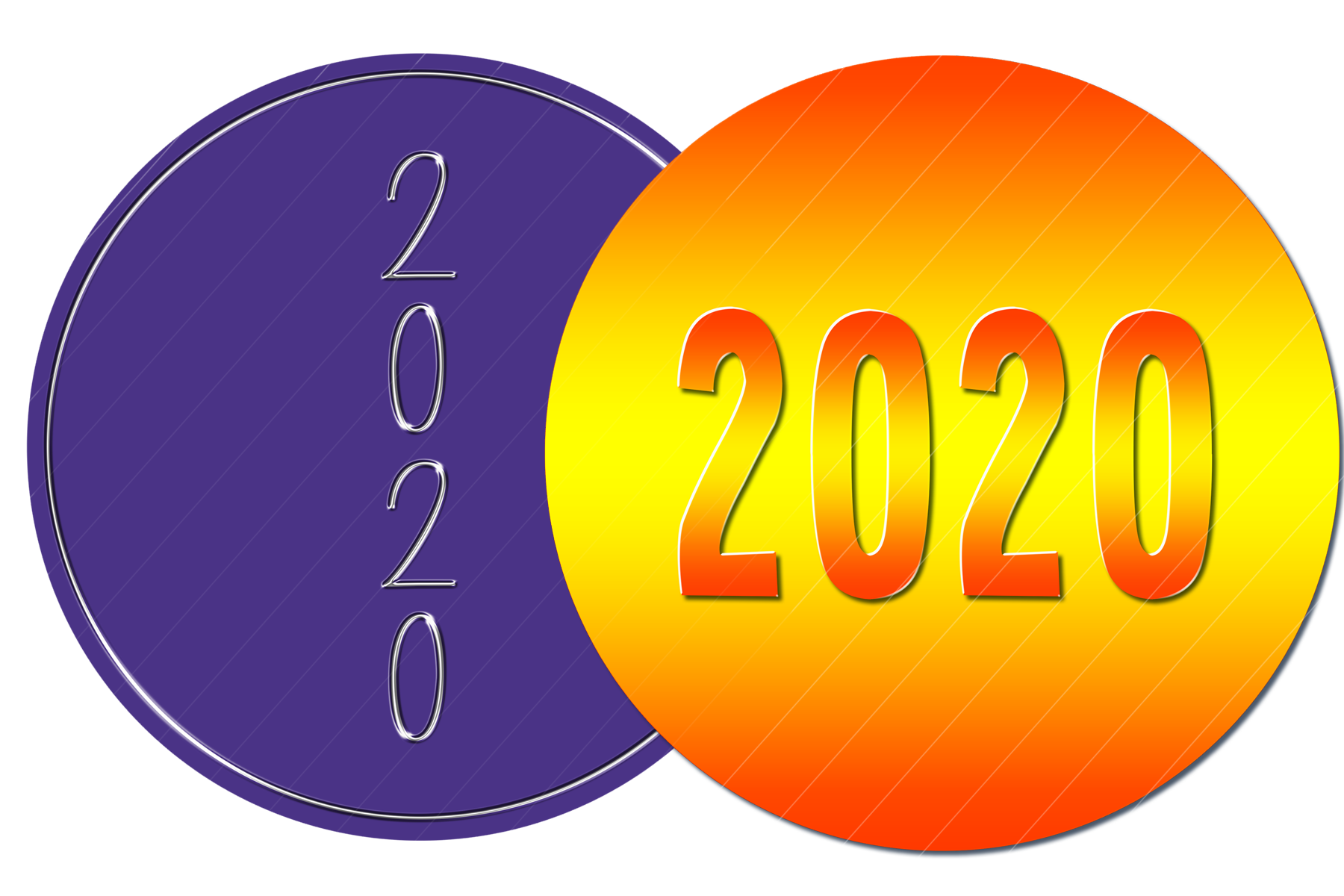 2020 New Year Designs for PRINTING, High Resolution example image 2