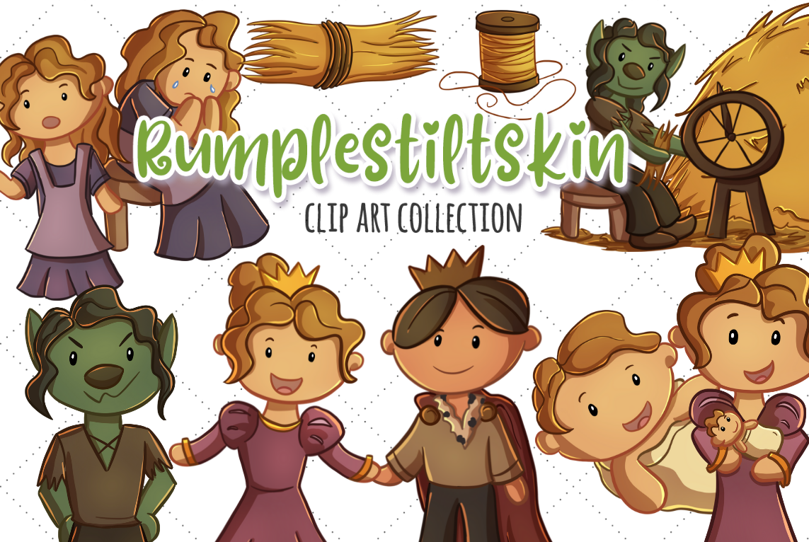 The Fairy Tale Graphics Bundle! example image 9