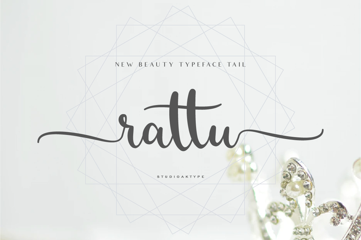 rattu handletter font example image 1