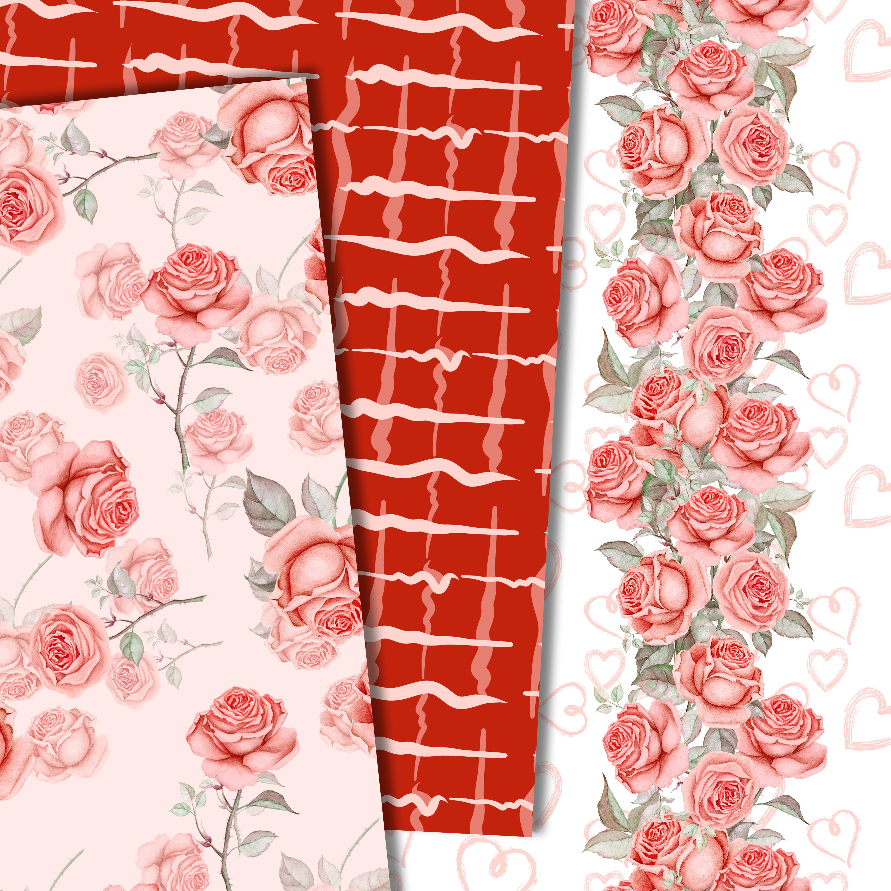 Roses in red example image 3