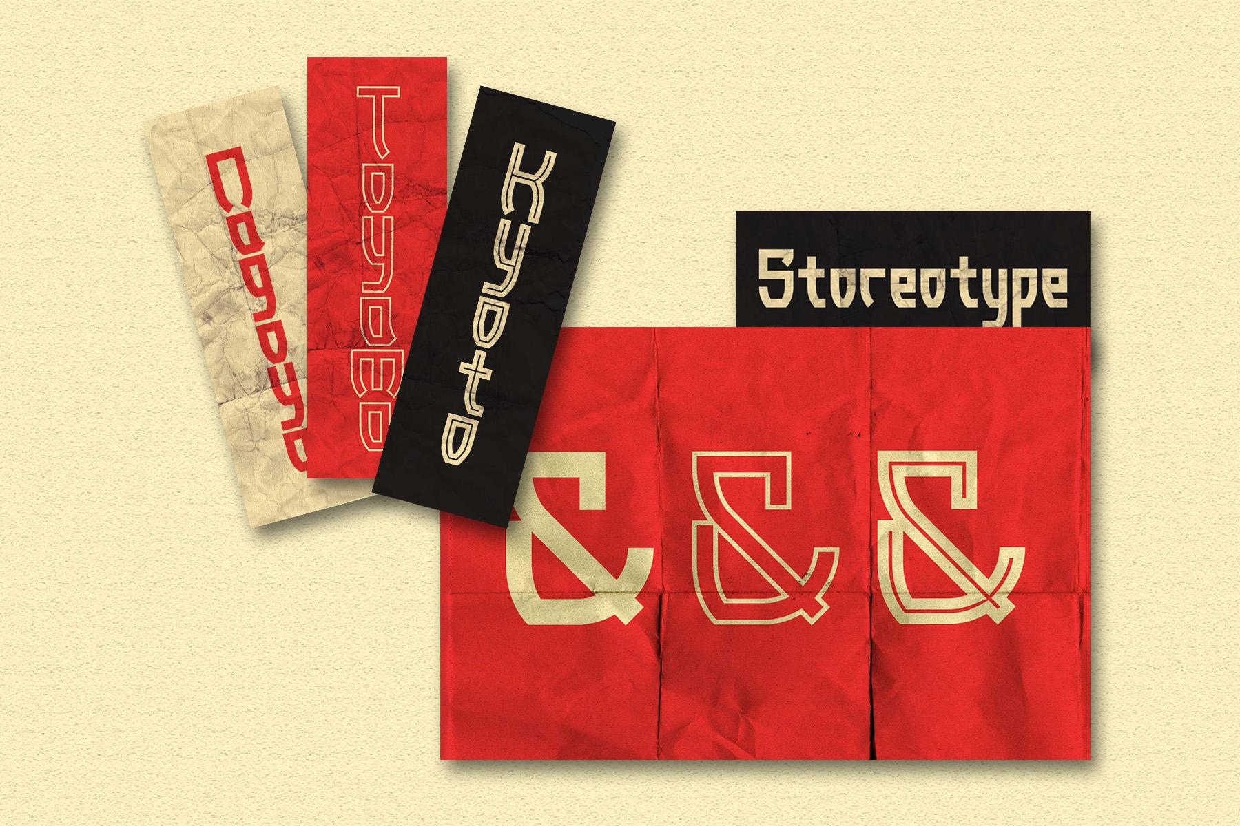 Torii - Japanese Style Typeface example image 4