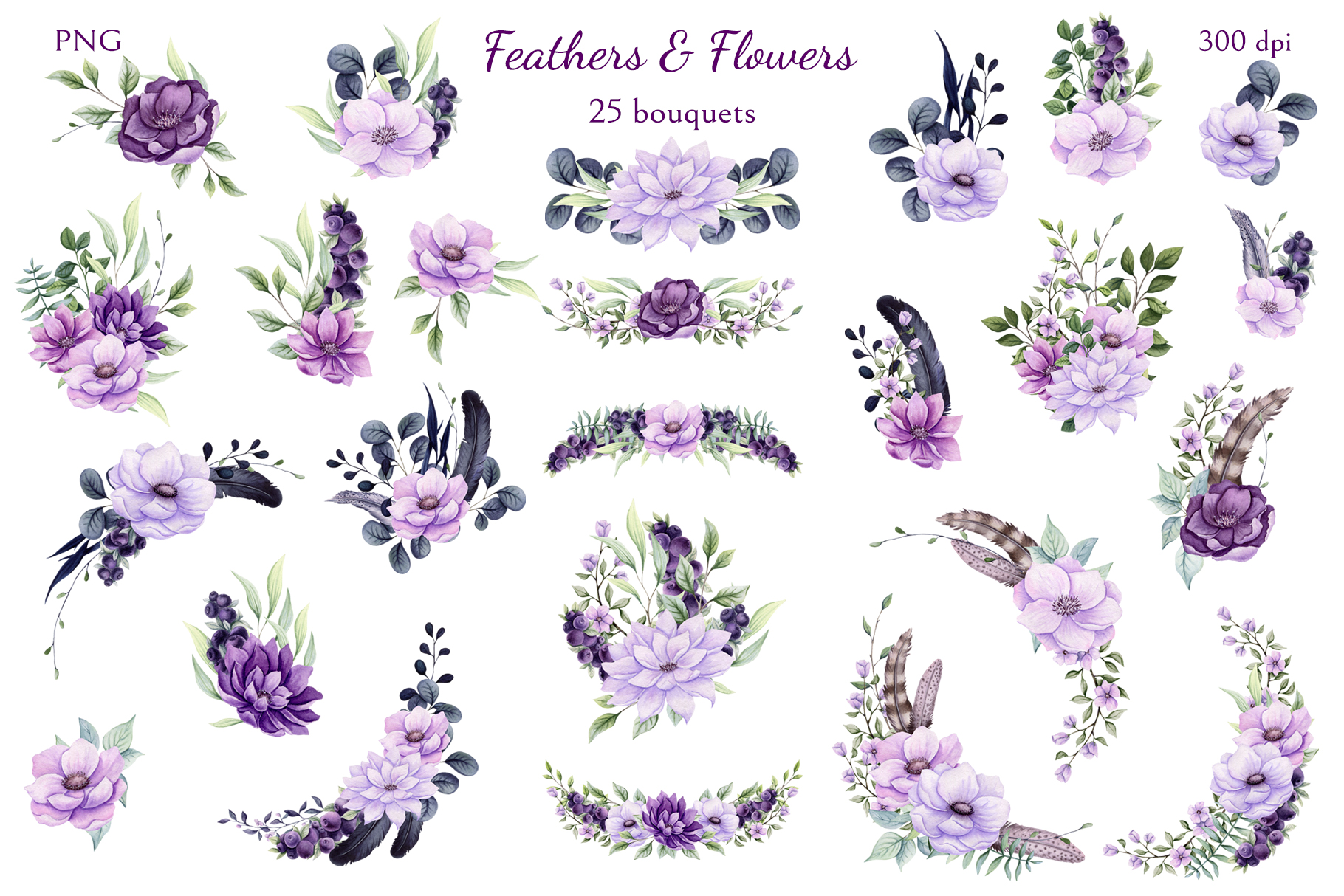 Feathers & Flowers example image 4