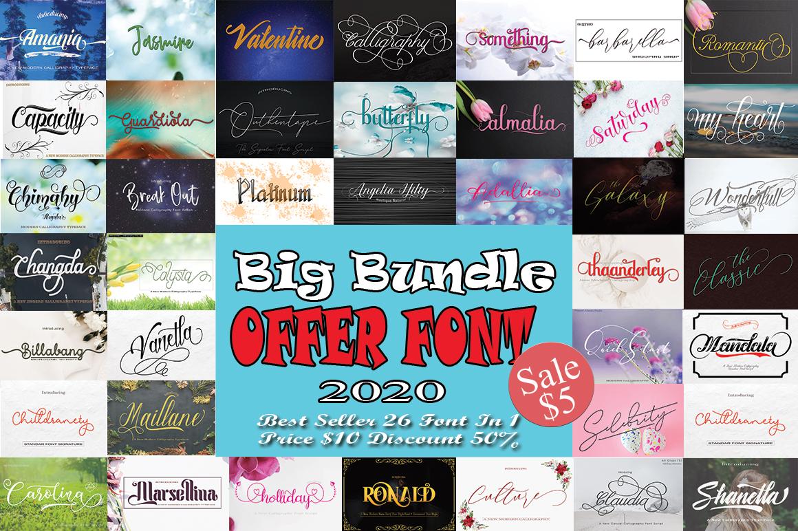 Big Bundle Offer Font example image 1