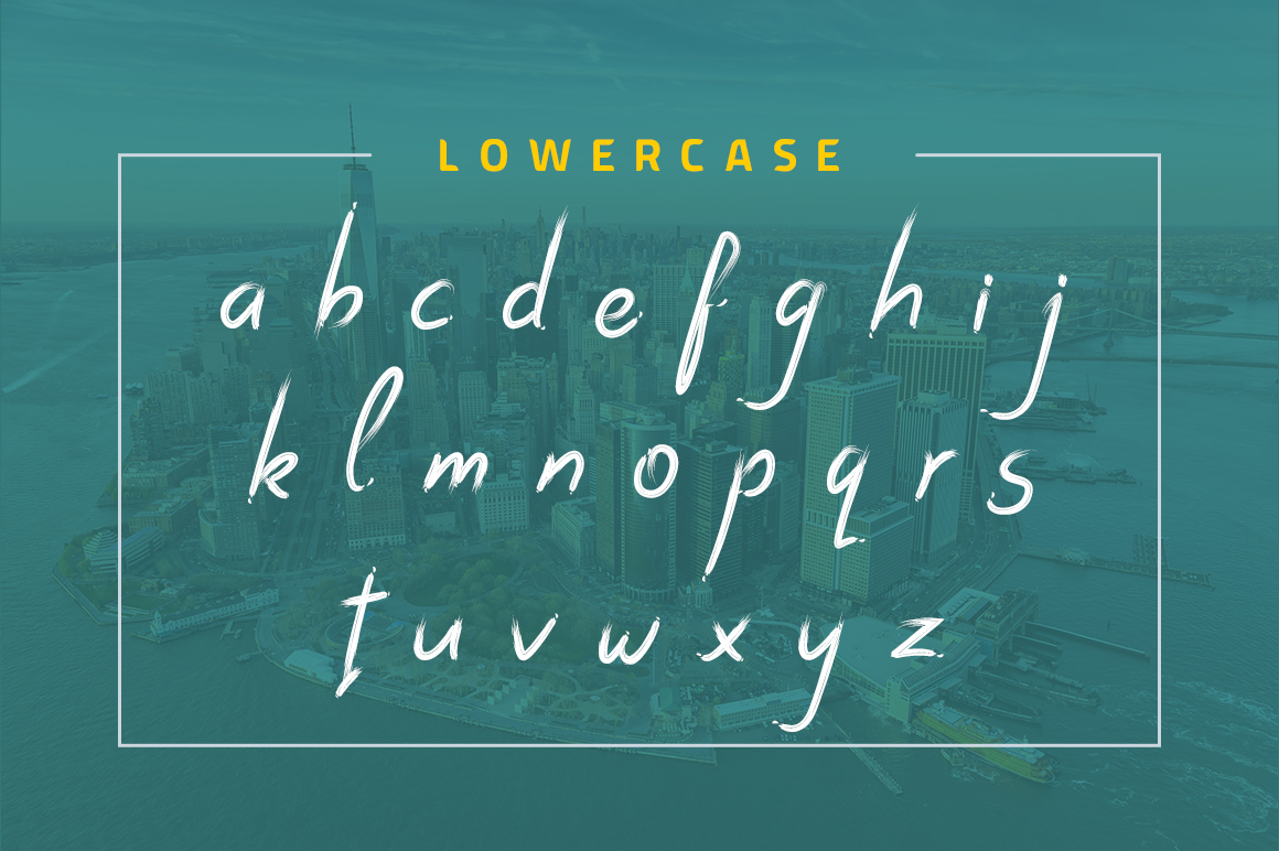 Dark Script Font example image 9