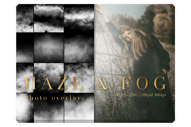 Real Fog Photo Overlay - Haze Overlays Pack example image 1