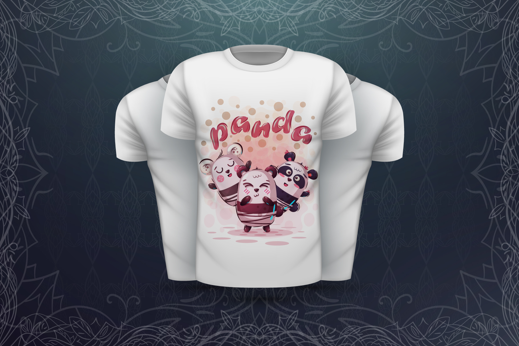 Sweet animals - for print t-shirt example image 6