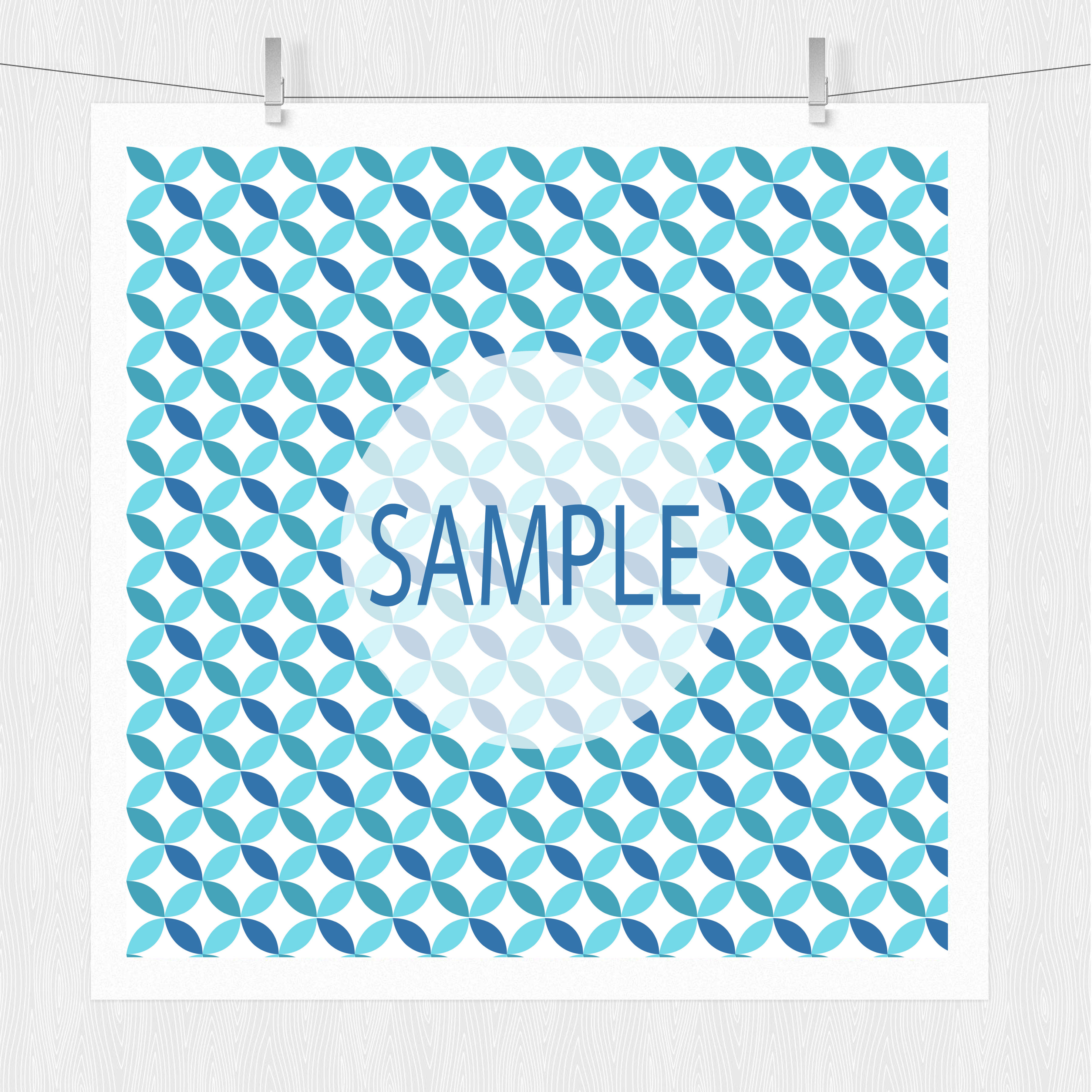 Blue Patterned Paper Pack example image 8