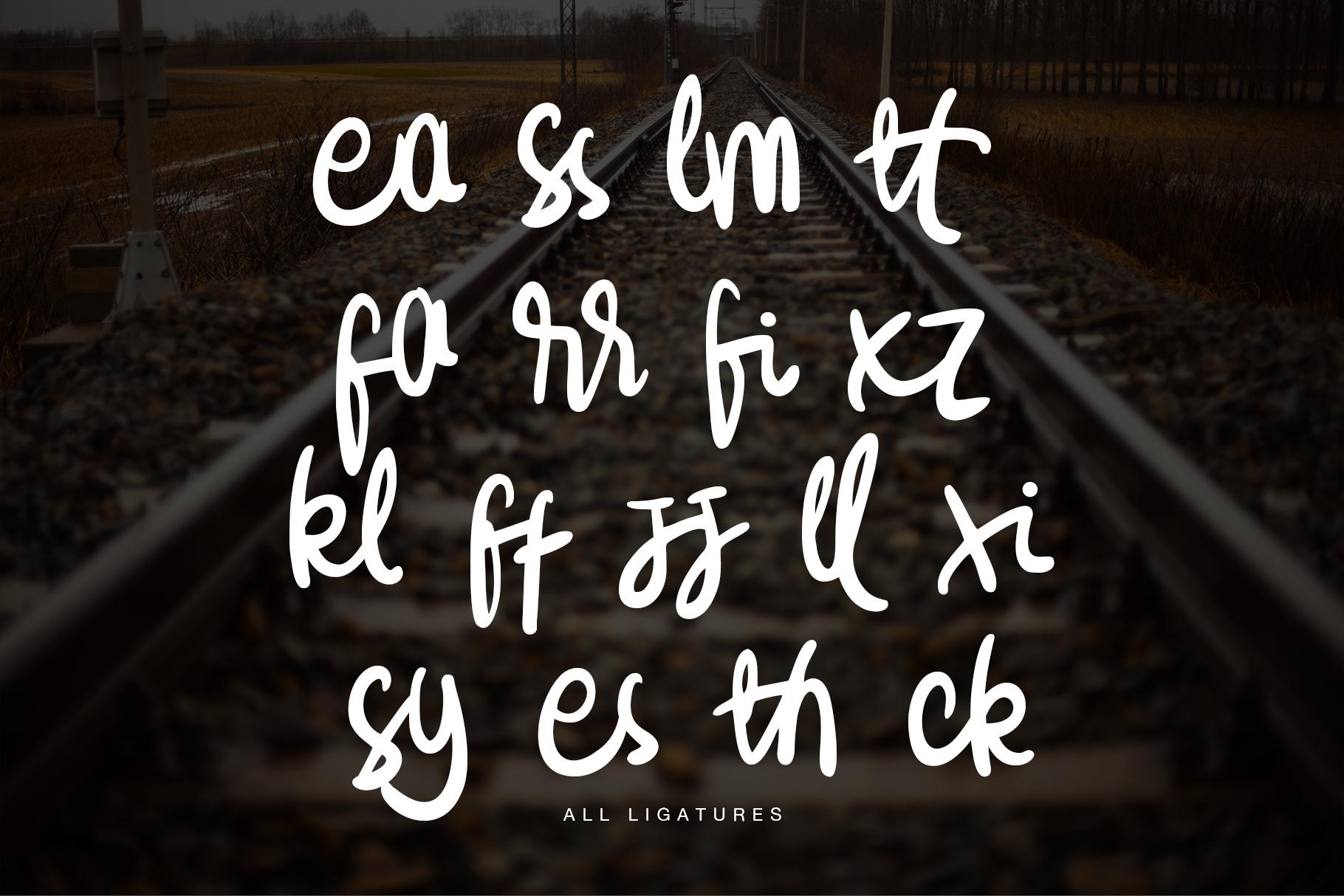 Stassyun Handwriting Font example image 4