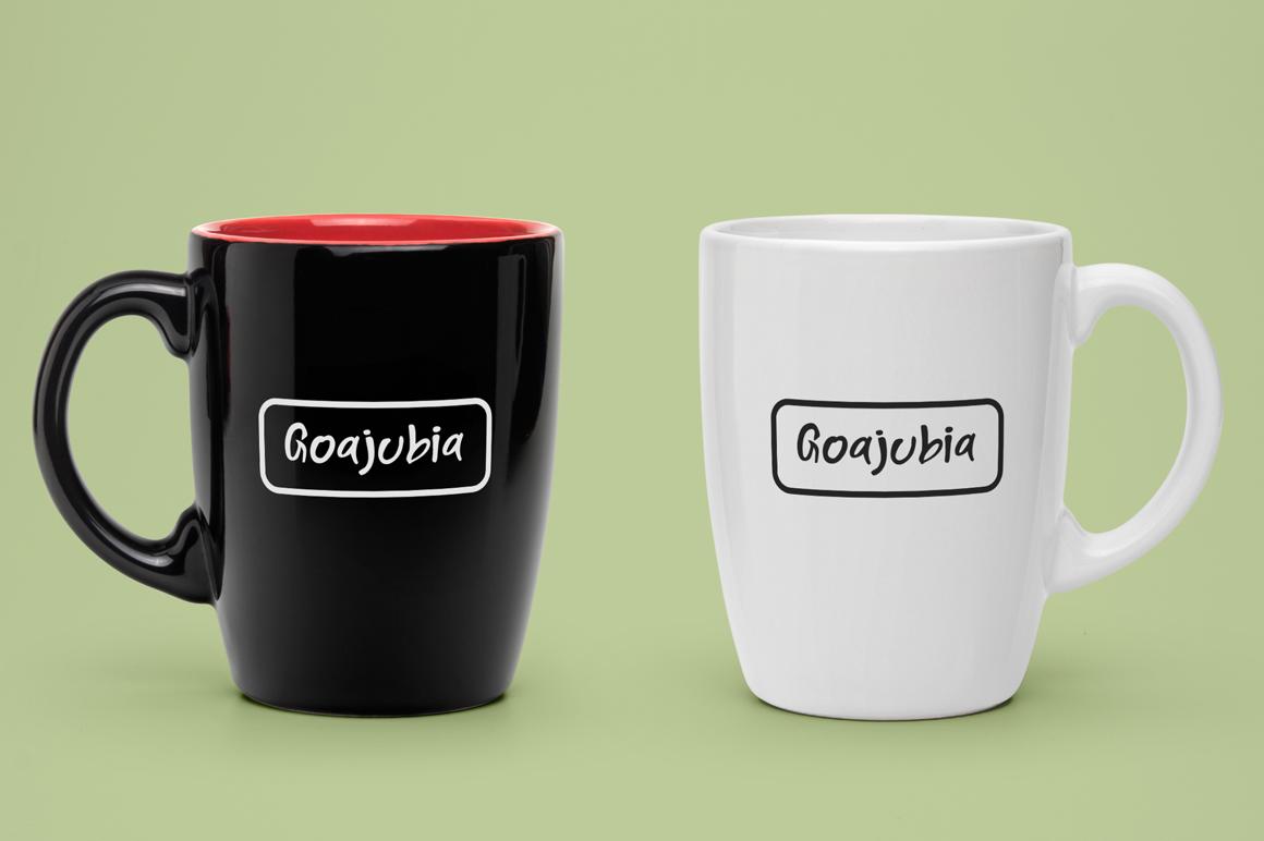 Goajubia Typeface example image 5