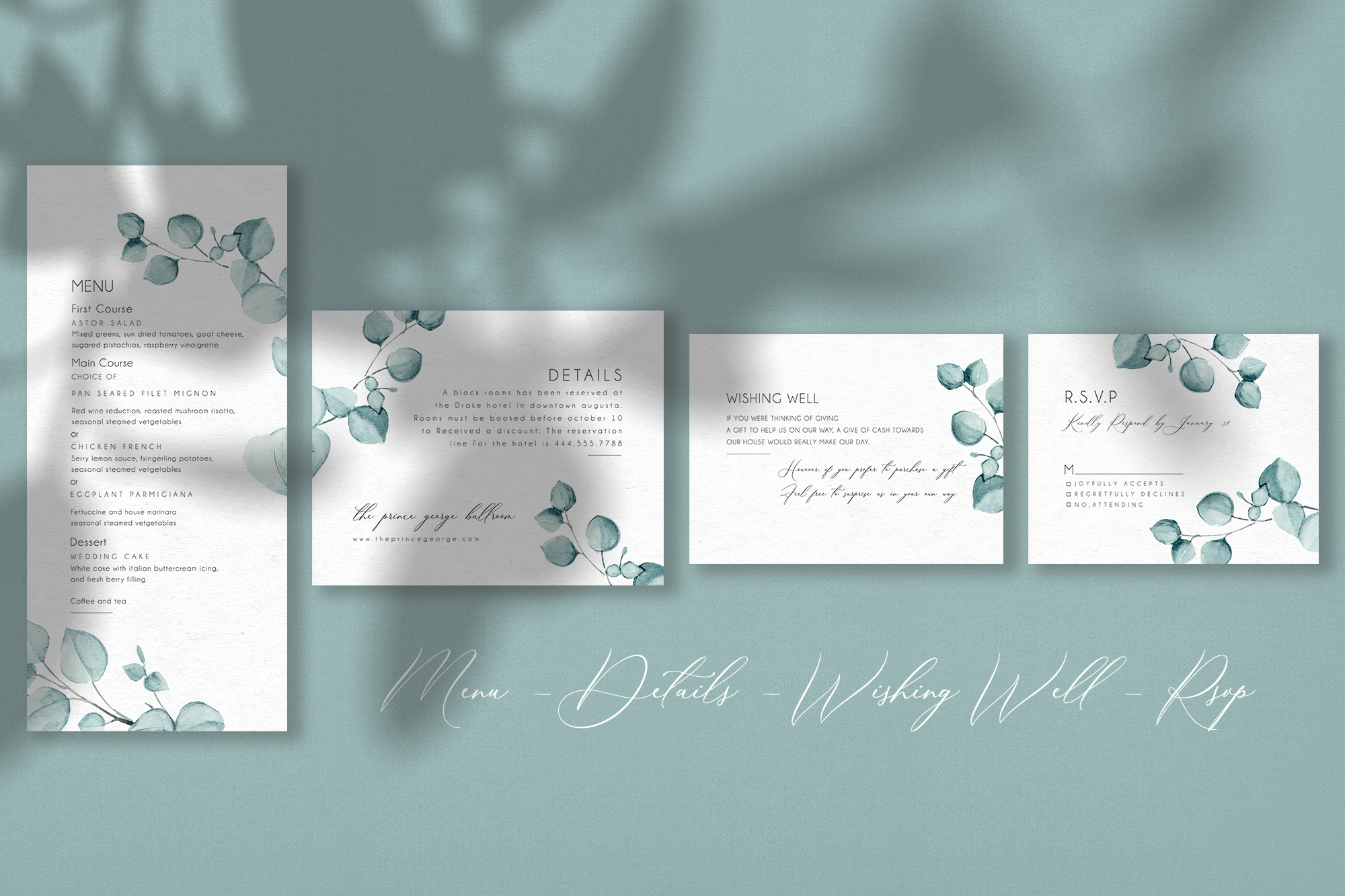 Eucalyptus - Wedding Suite example image 4