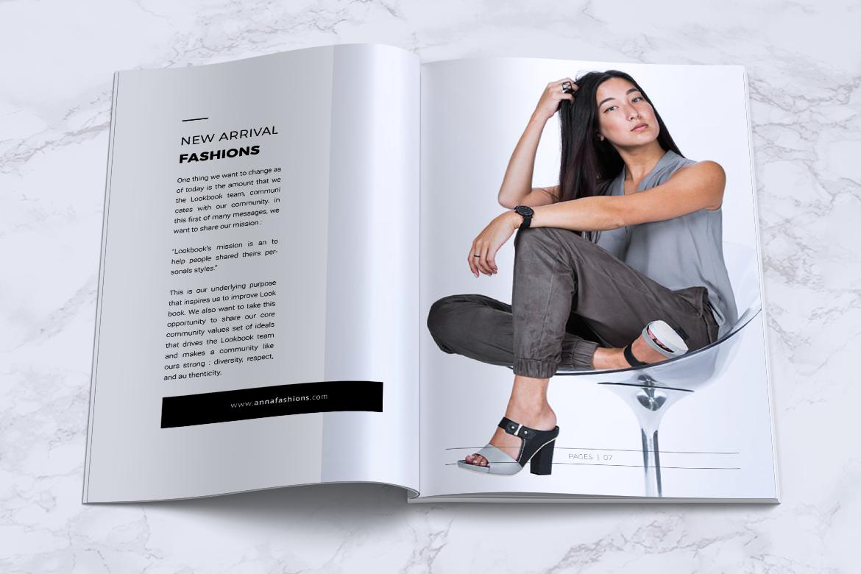 BLANKS   Minimal Lookbook/Magazines example image 6