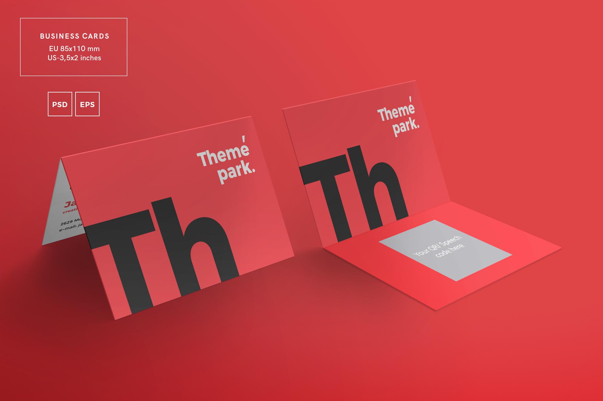 Theme Park Party Entertainment Design Templates Bundle example image 3
