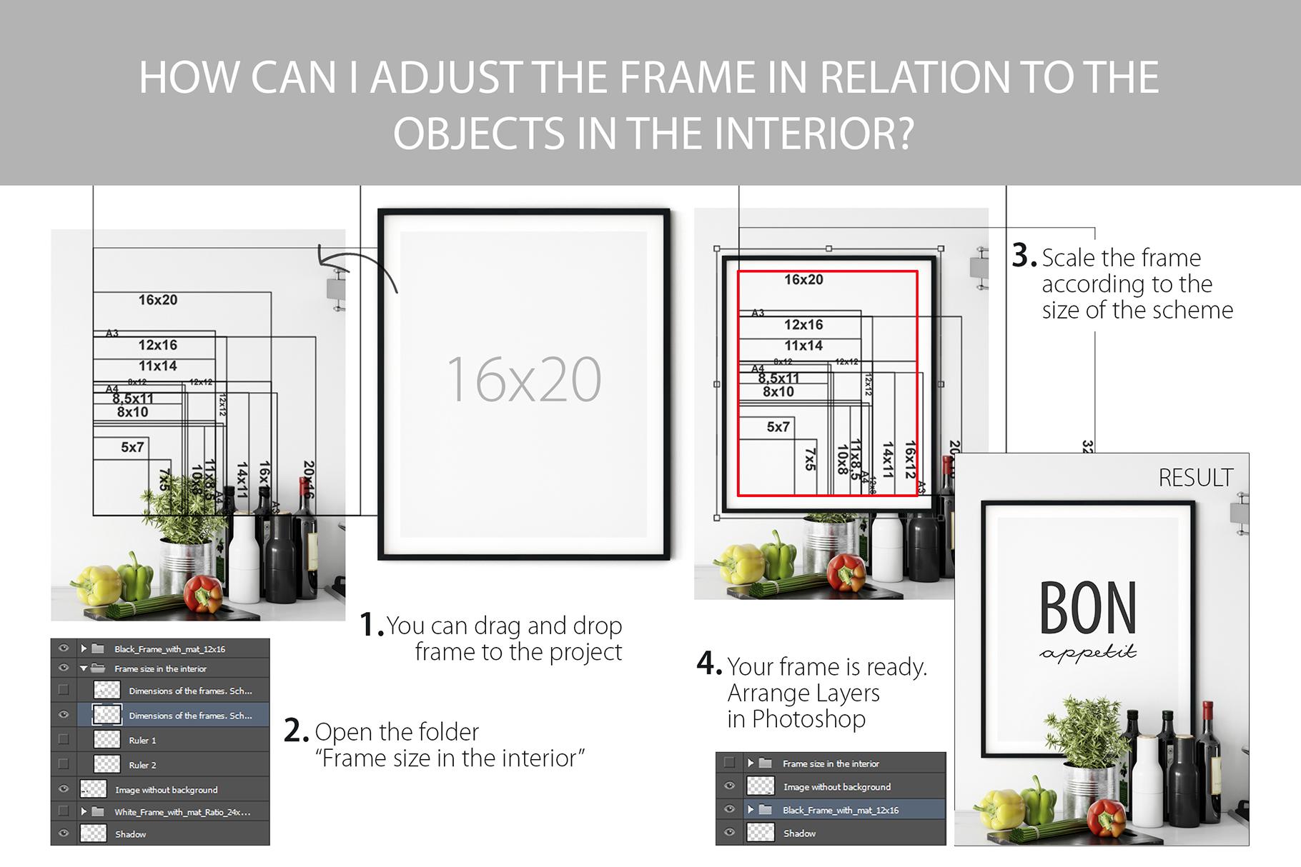 Scandinavian Interior Frames & Walls Mockup Bundle - 3 example image 30